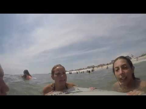 Fire Island, Fair Harbor, New York: Fun Waves July 16 2016