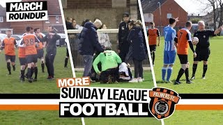 MORE Sunday League Football - AN UNLIKELY GOALSCORER, ABANDONED CUP FINAL & AN INTERESTING REFEREE