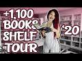 Not Your Regular Bookshelf Tour   1100 Books, 14 Bookcases   2020 Bookshelf Tour