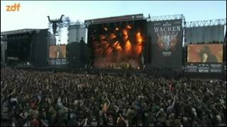 Скачать Amon Amarth Death In Fire Wacken 2012