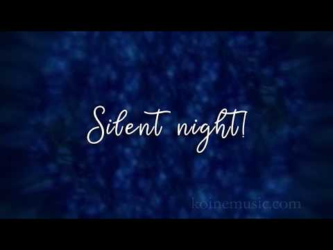 Silent Night Holy Night - Christian Music with lyrics - Christmas Song.