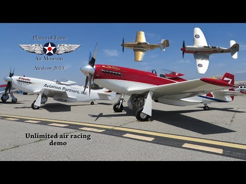 Planes Of Fame Airshow 2019 'Reno Air Race Demo'
