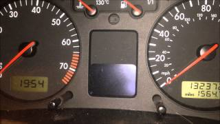 [EASY] How to reset the service light on a VW Golf!