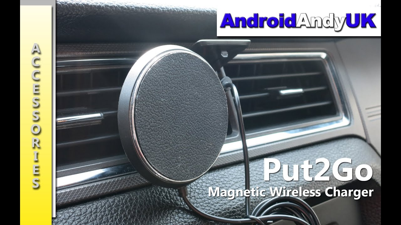 Put2go wireless magnetic car charger kickstarter