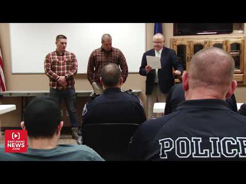 Rexburg Police Department honors officer of the year for 2019