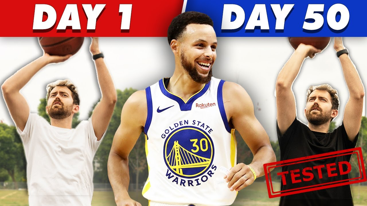 I Trained like Steph Curry for 50 Days to Improve my Shooting - [Before/After]