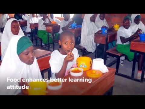 Kaduna school feeding programme