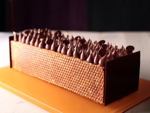 Mille-Feuille au chocolat par Thierry Bamas