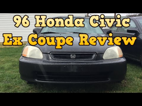 1996 Honda Civic Ex Coupe - Review (New Project Car)