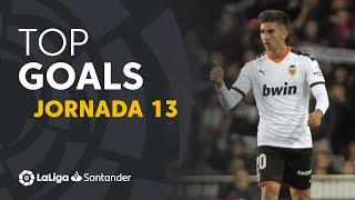 Todos los goles de la Jornada 13 de LaLiga Santander 2019/2020