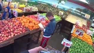 Нью Йорк. Идем на китайский рынок Цены на овощи и фрукты   часть 7