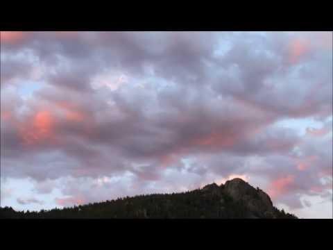 COOL Rollinsville Colorado Sunset Elevation 8,474 Time Lapse Short