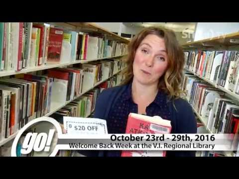 Vancouver Island Regional Library Welcomes You Back!