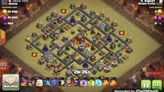 Clash of Clans - Clan War TH10 attack 3 stars | Hitam Putih