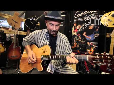 Talking Soul-Blues Guitar Playing with Godin Artist Ric Latina