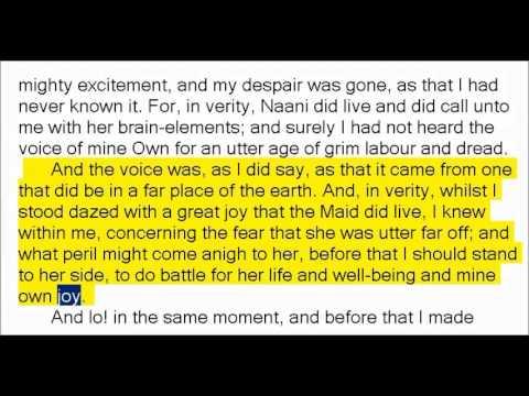 The Night Land by William Hope Hodgson 2of2 (Book Reading, British English Female Voice)