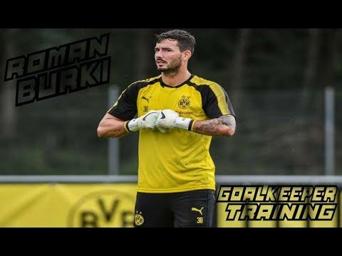 Roman Bürki / Goalkeeper Training / Borussia Dortmund !