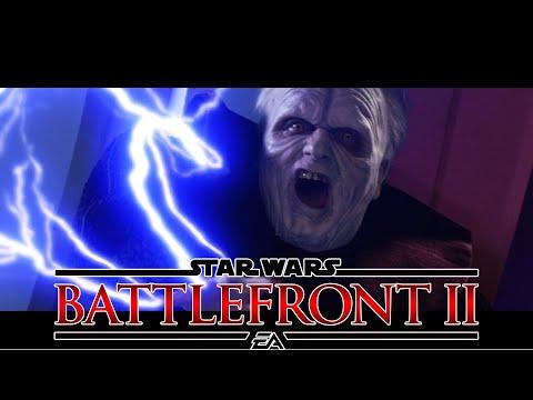 ⚡ UNLIMITED POWER ⚡ Star Wars Battlefront 2 Emperor Palpatine Gameplay |