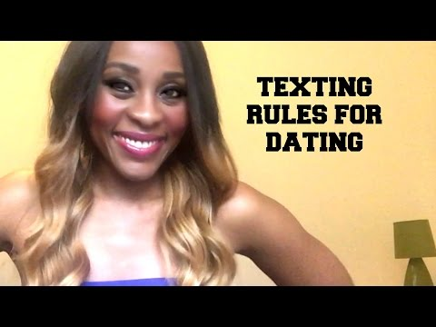 dating rules for texting guys Never you fear, young casanova consider this your guide to relationship texting etiquette but please, don't follow these rules for face-to-face conversation.