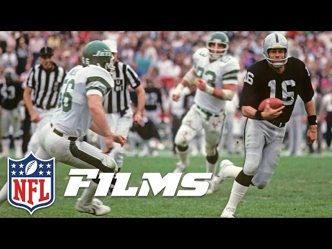 #8 Jim Plunkett | Top 10 Raiders All Time | NFL Films