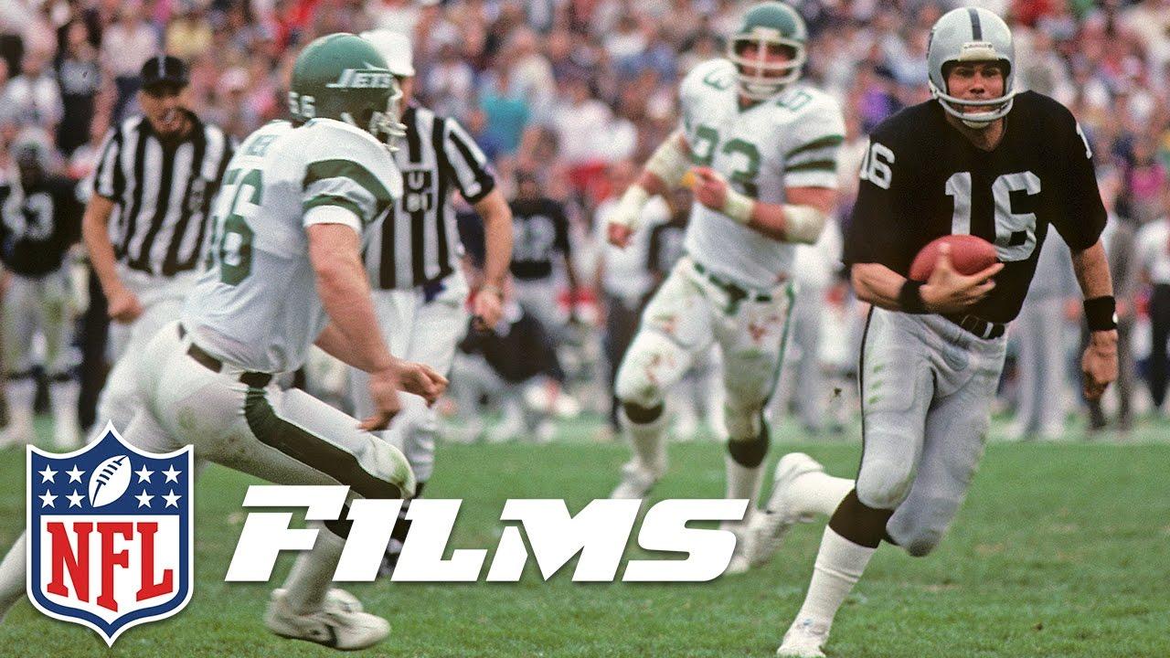 b68fa0c0 #8 Jim Plunkett | Top 10 Raiders All Time | NFL Films