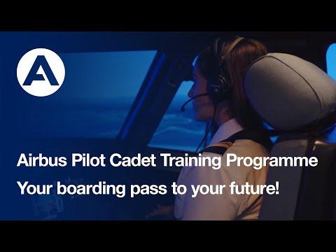 Start your pilot career with the Airbus Pilot Cadet Programme!