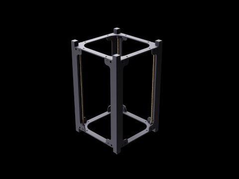 1.5U CubeSat Structure by EnduroSat
