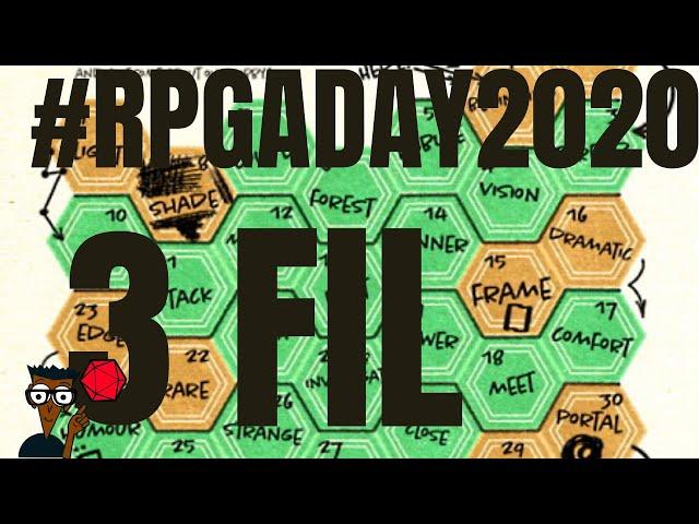 #RPGaDay2020 jour 3 :  le fil