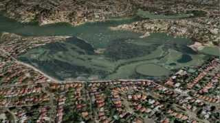 Northbridge Golf Course in 3D