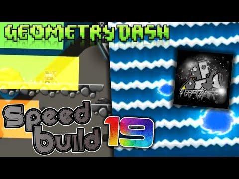 Geometry Dash (2.11) SPEED BUILD #19 SERPONGE STYLE? (S2) (it was a fail lol)