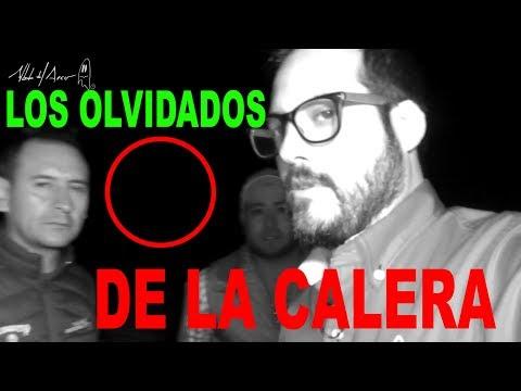 LOS OLVIDADOS DE LA CALERA - ALBERTO DEL ARCO