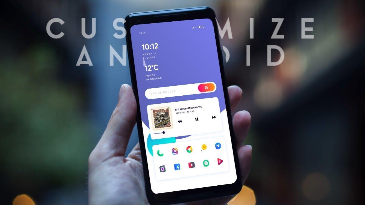 Android Customization - Best Nova Launcher Setup (2019 New Theme)