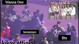 BTS, SEVENTEEN & WANNA ONE REACTION TO GFRIEND EUNHA SPEECH @SMA (SEOUL MUSIC AWARDS)