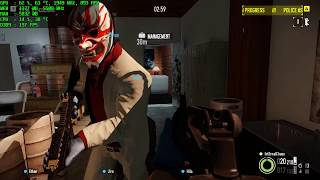 Payday 2 - 1080p - 1080 Ti - i9-7900X - Max Settings - Performance Test