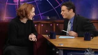 """Gillian Anderson at """"The Daily Show"""""""