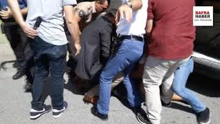 Eli Satırlı Şahıs Bafra'yı Birbirine Kattı