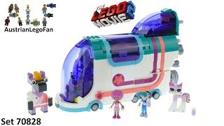 Lego Movie 2 70828 Pop-Up Party Bus - Lego 70828 Speed Build