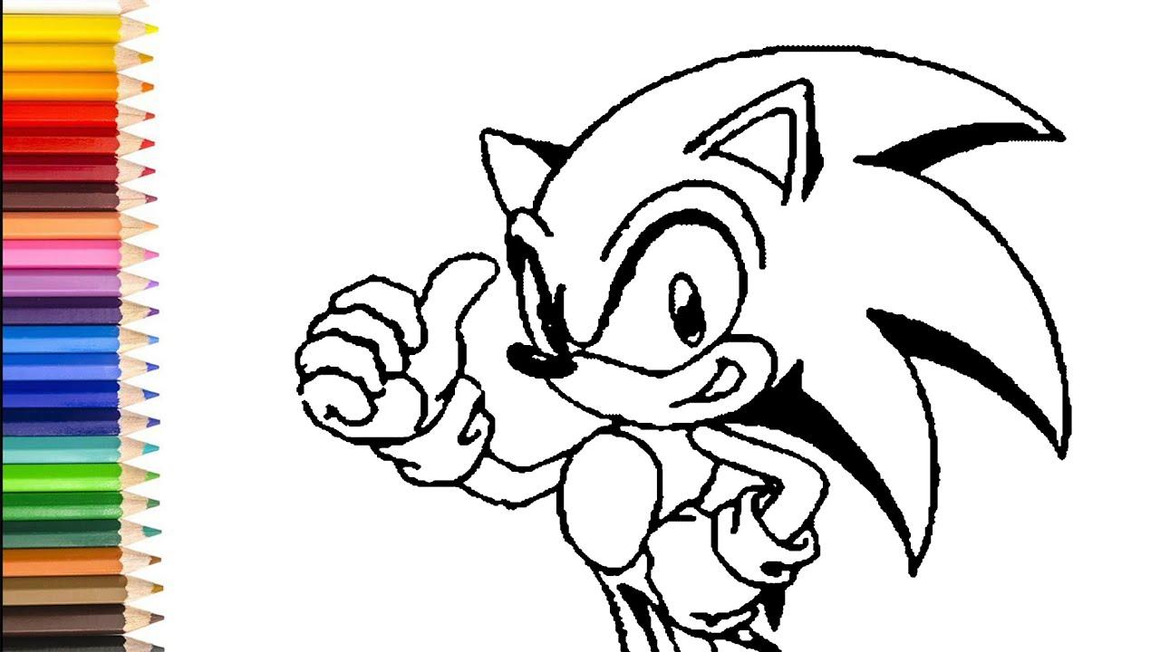 Sonic Bilder Ausmalen Kinder Ausmalbilder