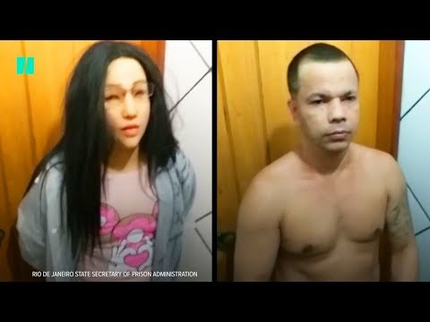 Pablo - Man Tried To Evade Cops By Dressing As A Woman