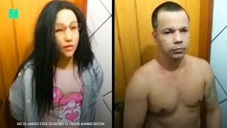Gang Leader Tries To Escape Prison Disguised As His Daughter