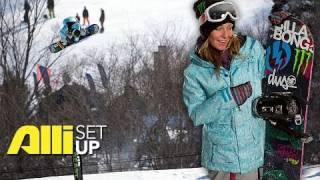 Alli Snowboard - Setup: Jamie Anderson