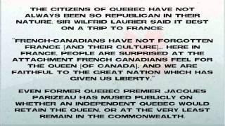 Canadian Anti-Monarchy Myths