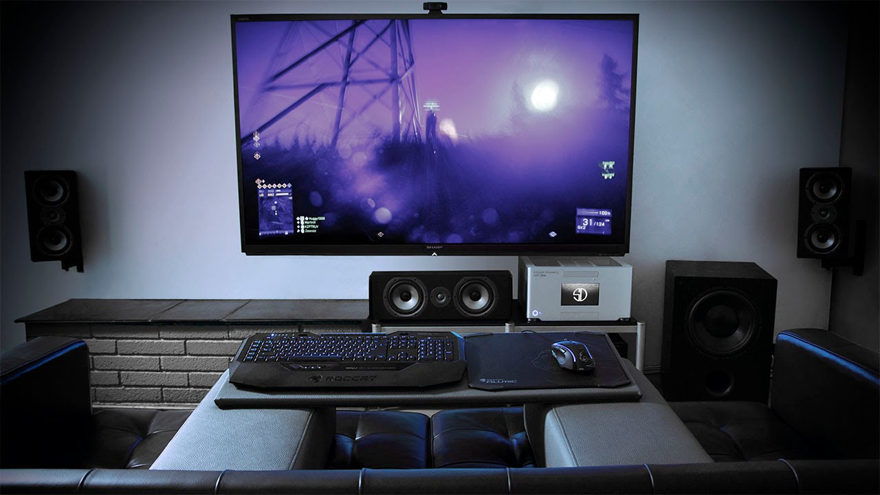 living room gaming pc mantel decor steiger dynamics the world s most advanced youtube