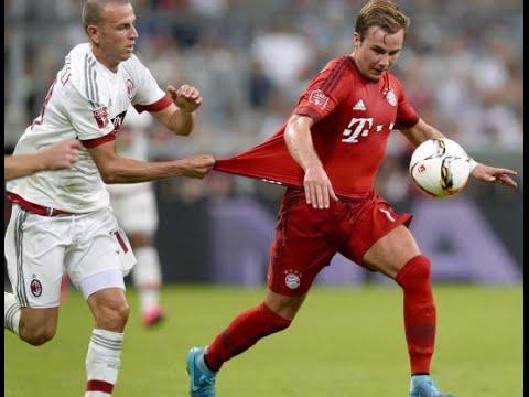 Best goal Mario Gotze Bayern Munich 3-0 AC Milan Audi Cup 2015