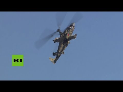 Rusia: helicópteros y aviones de combate demuestran sus capacidades en Aviadarts