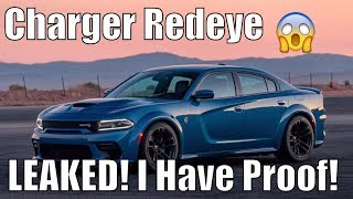 808HP Charger Redeye/Angel *LEAKED*! It's Coming! PROOF!