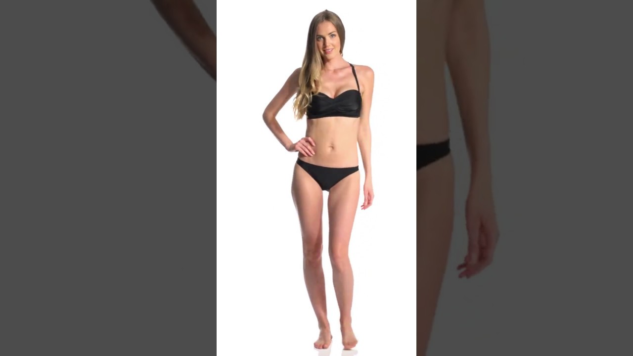 2587542cd31 Prana Women's Elysia Twist Top | SwimOutlet.com - YouTube