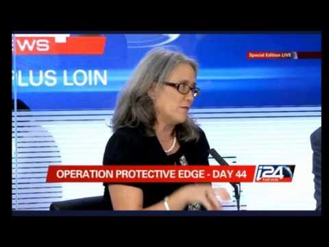 Operation Protective Edge - Day 44, Panel with Dr. Emily B. Landau