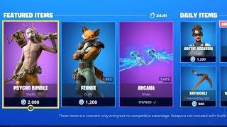 *NEW* Fortnite Item Shop Update Gameplay Live August 27 (Fortnite New Skins)
