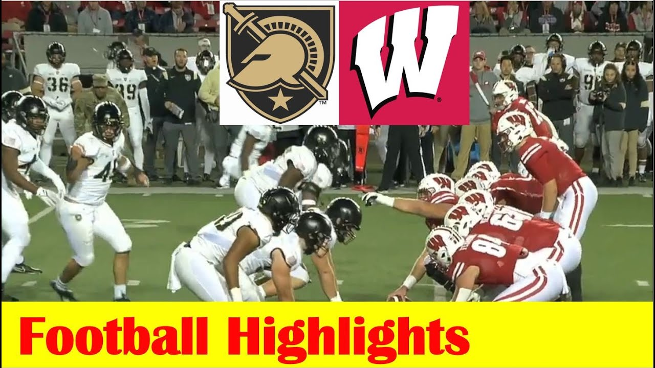 Download Army vs Wisconsin Football Game Highlights 10 16 2021
